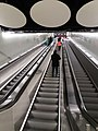 Tapiola metro station escalators.jpg