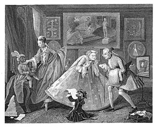 painting by William Hogarth