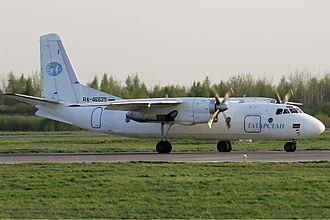 Antonov - Antonov An-24, the Soviet Union's most common regional airliner.