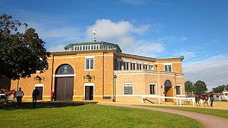 Tattersalls - Tattersalls sales ring, Newmarket