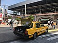 Taxi with its trunk open in Shimbashi - Oct 2 2019.jpeg
