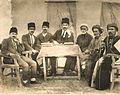 Teachers of first Kurdish primary school in Sulaymaniyah,Kurdistan,Iraq in 1924.jpg