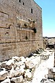 Temple Mount wall, broken stones.jpg