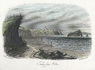 Tenby from Giltar
