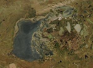 300px-Tengiz-Korgalzhyn_Lake_System_MODIS_250m.jpg
