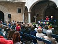 """Teresa Pous, presentant el seu darrer llibre """"Lluny del Tibet"""".jpg"""