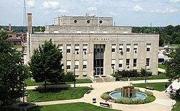 Terre Haute, Indiana city hall