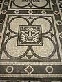 Testaccio - s M Liberatrice mosaico zodiacale Leone 1180505.JPG