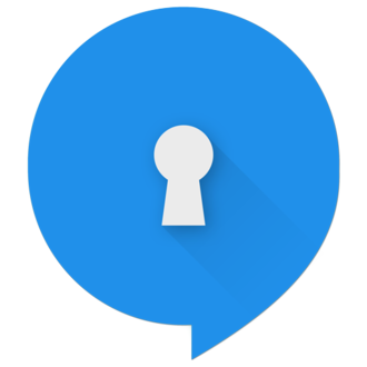 Signal (software) - The Android client's logo from February 2015 to March 2017.