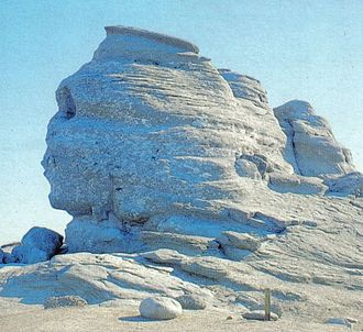 Burebista (film) - The head-shaped rock (known as the Bucegi Sphinx) with which the film begins and ends