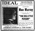 The Big Little Person 1919 newspaperadvert.jpg