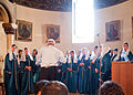 The Choir at Echmiadzin Cathedral, Armenia (5047091658).jpg