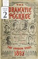 The Dramatic peerage, 1892 - personal notes and professional sketches of the actors and actresses of the London stage (IA cu31924074488739).pdf