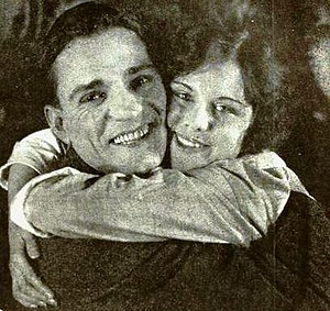 Francis McDonald - Francis McDonald and Shirley Mason in The Final Close-Up (1919)