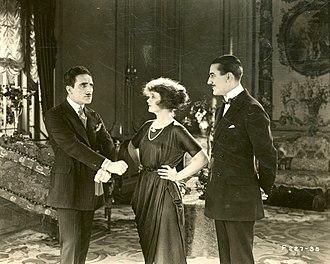 Ward Crane - Jean De Briac, Billie Burke, and Ward Crane in The Frisky Mrs. Johnson (1920)