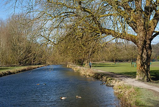 The Itchen Navigation, Winchester - geograph.org.uk - 1736965