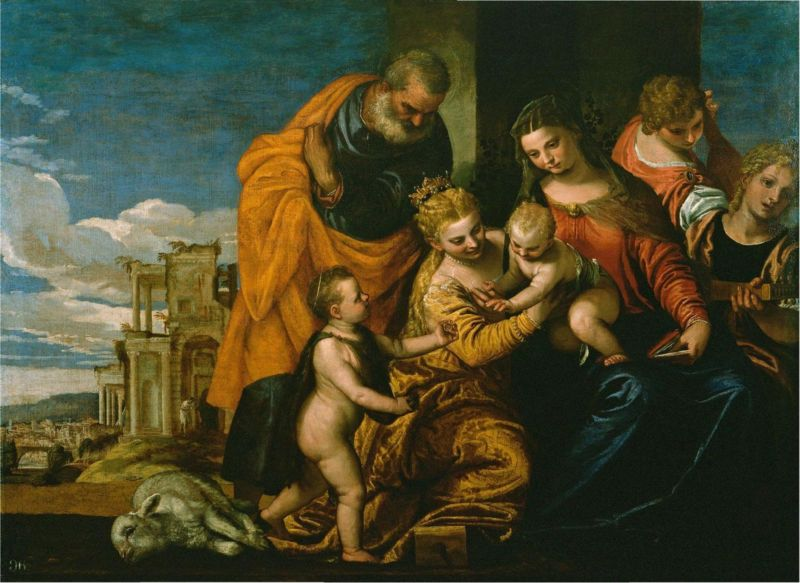 ไฟล์:The Marriage of Saint Catherine (1580); Paolo Veronese.JPG