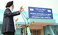 The Minister of State (Independent Charge) for Youth Affairs & Sports, Dr. M.S. Gill addressing at the inaugural function of the Swimming Pool Complex of the Sports Authority of India in Kolkata on January 23, 2009.jpg