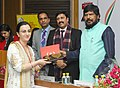The Minister of State for Social Justice & Empowerment, Shri Ramdas Athawale presented the Achievers' Awards, at a function, in New Delhi on February 06, 2017.jpg