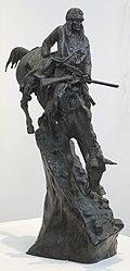 The Mountain Man by Frederic Remington, Honolulu Museum of Art.jpg