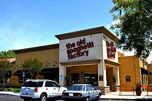 The Old Spaghetti Factory - Image: The Old Spaghetti Factory Elk Grove California