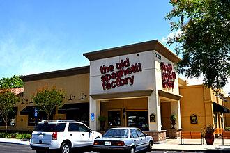 The Old Spaghetti Factory - Image: The Old Spaghetti Factory Elk Grove California