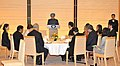 The Prime Minister, Dr. Manmohan Singh addressing at a Banquet, hosted in his honour, by the Prime Minister of Japan, Mr. Naoto Kan, in Tokyo, Japan on October 25, 2010.jpg