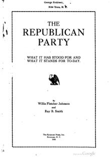 The Republican Party (1920).djvu