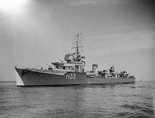 HMS <i>Vanoc</i> (H33) ship