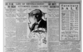 The San Francisco Call newspaper front page, thursday, feb 8 1906, featuring Thomas B. Bishop.png
