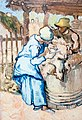 The Sheep-Shearers (after Millet) - My Dream.jpg