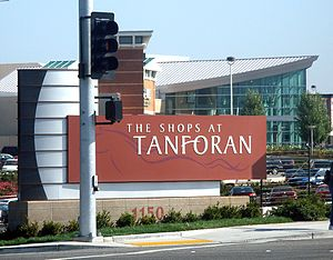 The Shops at Tanforan - Image: The Shops at Tanforan sign