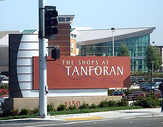 The Shops at Tanforan - Image: The Shops at Tanforan sign