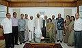 The Speaker, Lok Sabha, Shri Somnath Chatterjee with a delegation from Bangladesh, in New Delhi on September 13, 2007.jpg