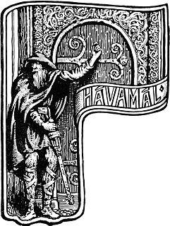 <i>Hávamál</i> Old Norse gnomic verses