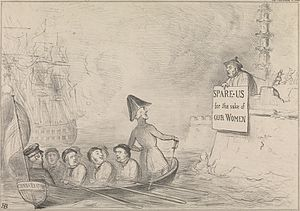 Bedchamber crisis - Satire of the crisis by John Doyle, 31 December 1840