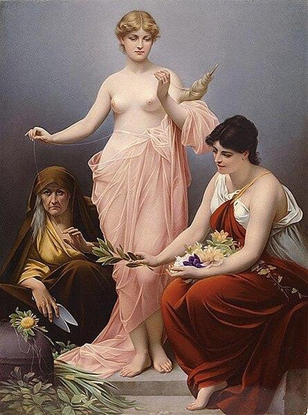File:The Three Fates by Paul Thumann.jpg