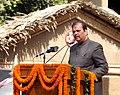 The Union Tourism Minister, Shri Subodh Kant Sahai addressing at the inauguration of the 26th Surajkund Crafts Mela, at Surajkund, Faridabad on February 01, 2012.jpg