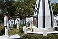 The War Memorial at Indian Naval Ship Gomantak.JPG