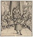 The White King in a Council with the Welsh Party, Receiving a Message, from Der Weisskunig MET DP834061.jpg