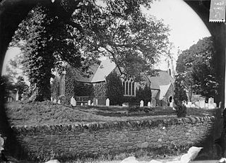 The church, Llangernyw