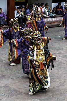 The dance of Shiva of Rumtek Monestry.jpg