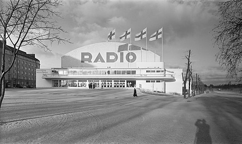 The exhibition hall in Helsinki featuring a radio exhibition, ca. 1935..jpg