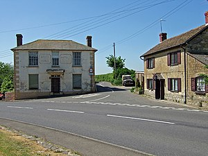 East Stour, Dorset - Image: The former White Horse Pub at East Stour geograph.org.uk 420630