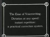 File:The stenographers friend or What was accomplished by an Edison business phonograph.webm