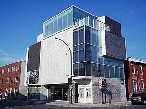 Théâtre de Quat'Sous - Théâtre de Quat'Sous' new building on Pine Avenue