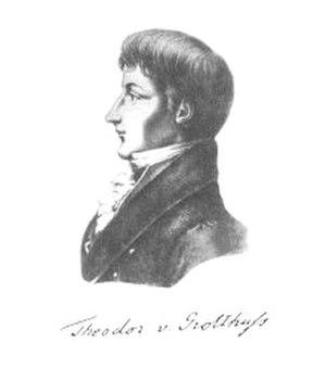 Theodor Grotthuss - Theodor von Grotthuß