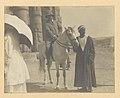 Theodore Roosevelt, full-length portrait, on horseback, facing front, at Luxor, Egypt LCCN95504420.jpg
