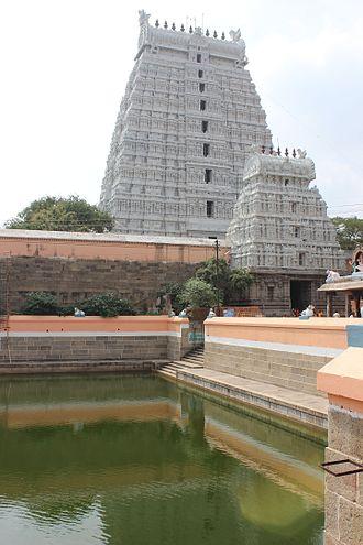 Tiruvannamalai - Thiruvannamalai Annamalaiyar Temple Gopurams