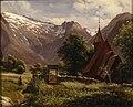 Thomas Fearnley - Tjugum kyrkje, Balestrand.jpg